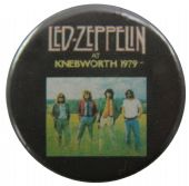 Led Zeppelin - 'At Knebworth 1979' Button Badge